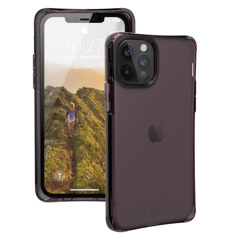 new rugged case with soft and slim style and semi red for iphone 12 pro max from UAG buy online at syntricate.