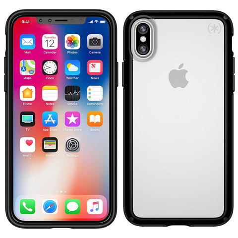 Shop SPECK GEMSHELL CASE FOR IPHONE X - CLEAR/ BLACK  from Syntricate Asia