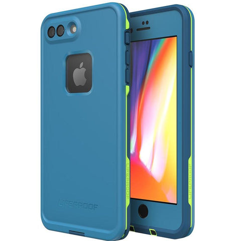 Shop LIFEPROOF FRE 360° WATERPROOF CASE FOR IPHONE 8 PLUS/7 PLUS - BANZAI BLUE Cases & Covers from Lifeproof