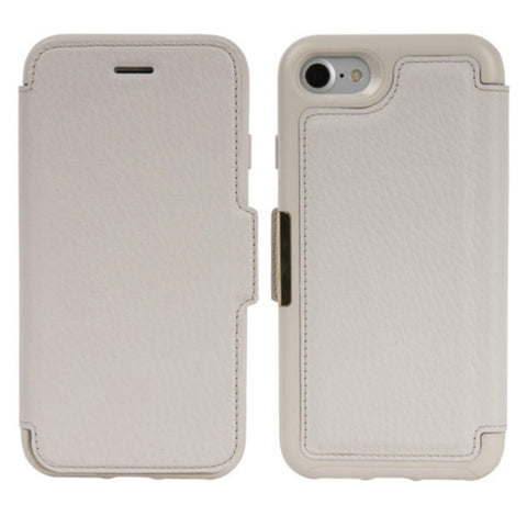 OtterBox Strada Leather Card Folio Case for iPhone 8/7 - Soft Opal