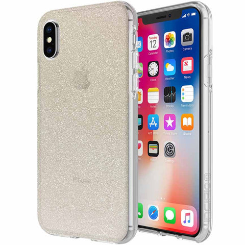 gold glitter case for iphone x