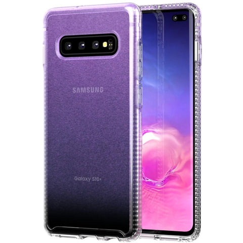 Shop TECH21 PURE SHIMMER CASE FOR SAMSUNG GALAXY S10 (6.1-INCH) - PINK Cases & Covers from TECH21