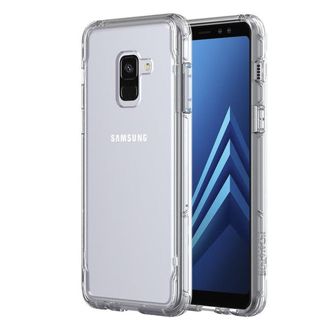 Shop GRIFFIN SURVIVOR CLEAR CASE FOR SAMSUNG GALAXY A8 PLUS - CLEAR Cases & Covers from Griffin