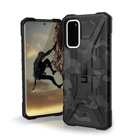 "Shop UAG Pathfinder SE Feeather-Light Rugged Case For Galaxy S20 (6.2"") -Midnight Camo Cases & Covers from UAG"