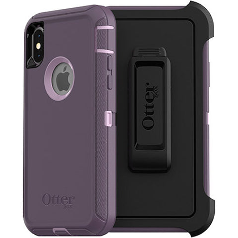 Shop OTTERBOX DEFENDER SCREENLESS EDITION RUGGED CASE FOR  IPHONE XS/X - PURPLE Cases & Covers from Otterbox