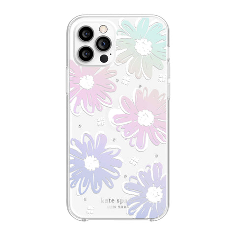 Buy new iPhone 12 Pro/12 protective hardshell case from Kate spade New York - Daisy Iridescent the authentic accessories with afterpay & Free express shipping.
