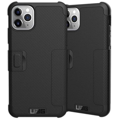 "Shop UAG Metropolis Folio Wallet Case For iPhone 11 Pro Max (6.5"") - Black Cases & Covers from UAG"
