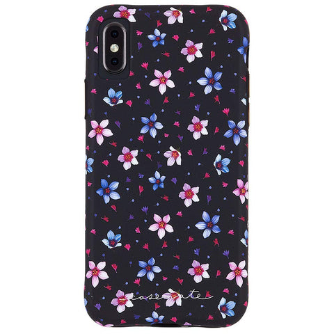 Shop CASEMATE WALLPAPER STREET CASE FOR IPHONE XS MAX - FLORAL GARDEN Cases & Covers from Casemate