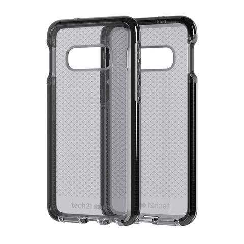Shop TECH21 EVO CHECK CASE FOR GALAXY S10E (5.8-INCH) - SMOKEY BLACK Cases & Covers from TECH21