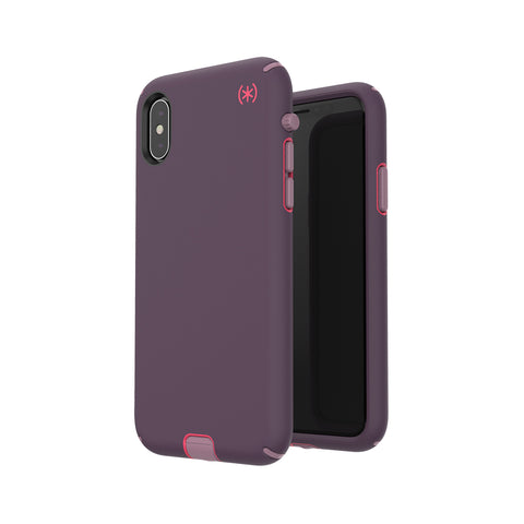 Shop SPECK PRESIDIO SPORT IMPACTIUM CASE FOR IPHONE XS/X - PURPLE/PINK  from Syntricate Asia