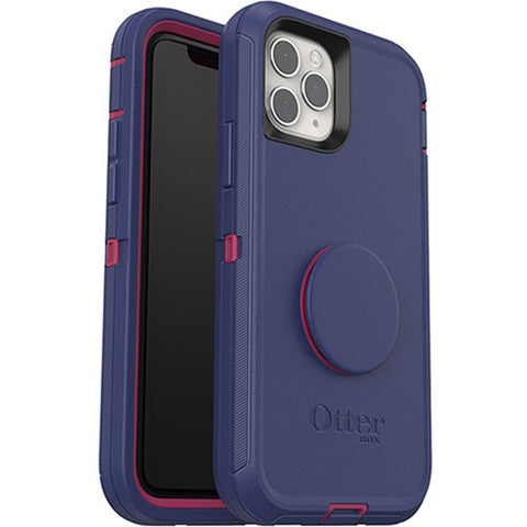 "Shop Otterbox Otter + Pop Defender Screenless Case For iPhone 11 Pro Max (6.5"") - Grape Jelly Cases & Covers from Otterbox"