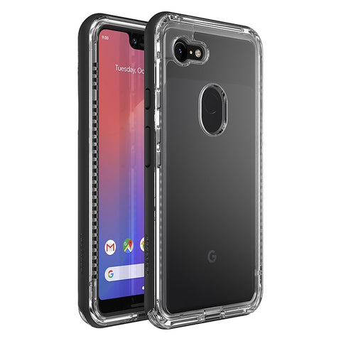 Shop LIFEPROOF NEXT SERIES RUGGED CASE FOR GOOGLE PIXEL 3 XL - BLACK CRYSTAL Cases & Covers from Lifeproof