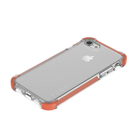 Shop Incipio Reprieve [Sport] Rugged Case for iPhone 8/7 - CORAL/CLEAR Cases & Covers from Incipio