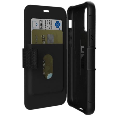 "Shop UAG Metropolis Folio Wallet Case For iPhone 11 Pro (5.8"") - Black Cases & Covers from UAG"