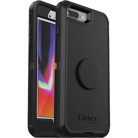 Shop OTTERBOX OTTER + POP DEFENDER CASE FOR IPHONE 7 PLUS /8 PLUS - BLACK Cases & Covers from Otterbox