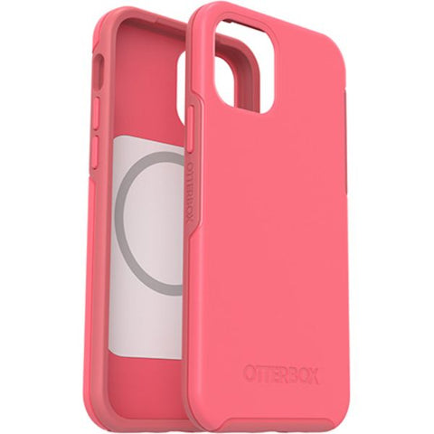 pink fashionista with sleek design and anti backeterial for your new iphone 12 pro/12 from otterbox