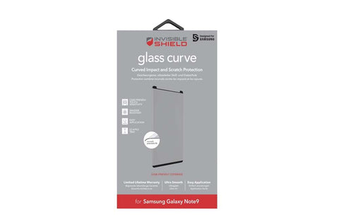Shop ZAGG INVISIBLESHIELD GLASS CURVE TEMPERED SCREEN PROTECTOR FOR SAMSUNG GALAXY NOTE 9  from Syntricate Asia