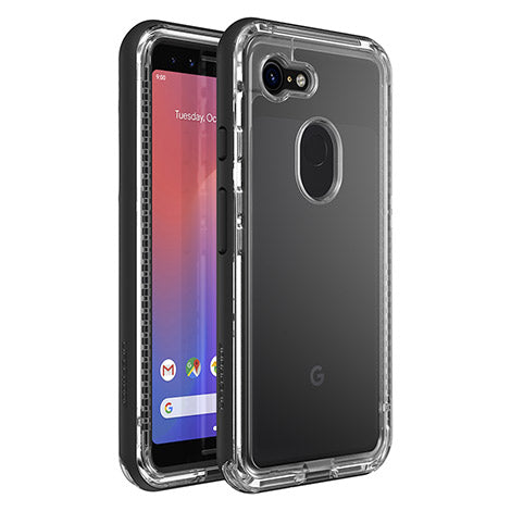 Shop LIFEPROOF NEXT SERIES RUGGED CASE FOR GOOGLE PIXEL 3 - BLACK CRYSTAL Cases & Covers from Lifeproof