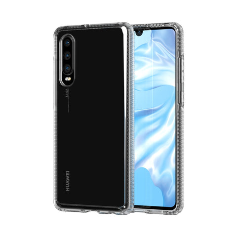 Shop TECH21 PURE CRYSTAL CLEAR CASE FOR HUAWEI P30 - CLEAR Cases & Covers from TECH21
