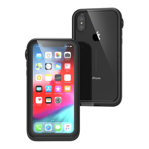 Shop CATALYST WATERPROOF CASES FOR IPHONE XS MAX - STEALTH BLACK Cases & Covers from Catalyst
