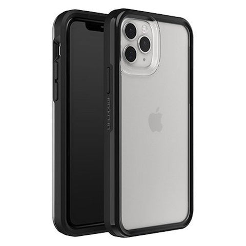 "LIFEPROOF Slam Ultra-Thin Rugged Case For iPhone 11 Pro Max (6.5"") - Clear/Black"