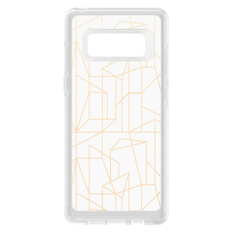 OTTERBOX SYMMETRY CLEAR GRAPHICS SLIM CASE FOR SAMSUNG GALAXY NOTE 8 - DROP ME A LINE