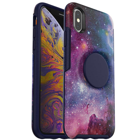 Shop OTTERBOX OTTER + POP SYMMETRY CASE FOR IPHONE X/XS - BLUE NEBULA  from Syntricate Asia