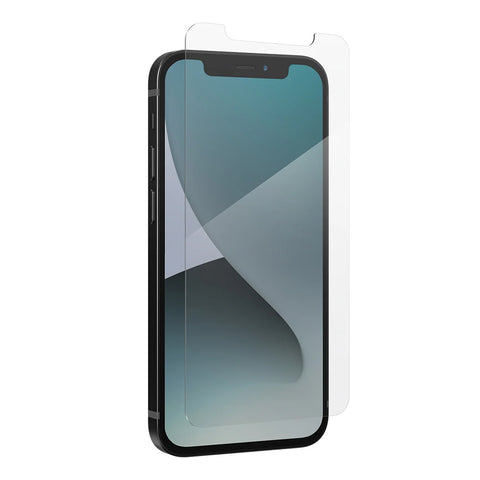 the new screen protector anti stratch for your iphone 12 mini from zagg, shop online now at syntricate.