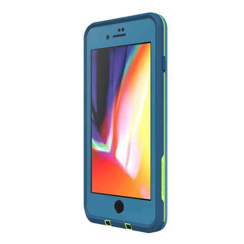 LIFEPROOF FRE 360° WATERPROOF CASE FOR IPHONE 8 PLUS/7 PLUS - BANZAI BLUE