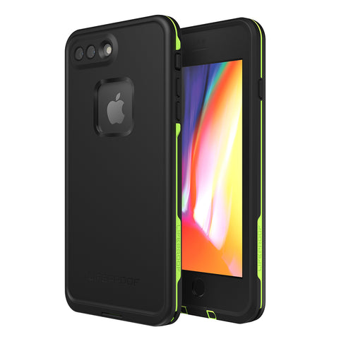 Shop LIFEPROOF FRE 360° WATERPROOF CASE FOR IPHONE 8 PLUS/7 PLUS - BLACK/LIME Cases & Covers from Lifeproof