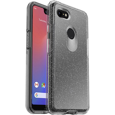 Shop OTTERBOX SYMMETRY CLEAR SLIM CASE FOR GOOGLE PIXEL 3 XL - STARDUST Cases & Covers from Otterbox