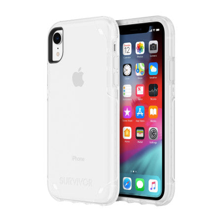 Shop GRIFFIN SURVIVOR STRONG CASE FOR IPHONE XR - CLEAR Cases & Covers from Griffin