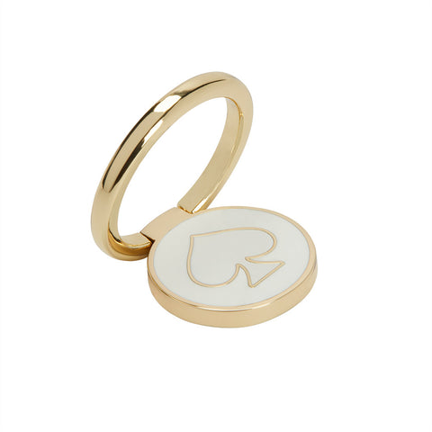 Shop INCIPIO KATE SPADE NEW YORK STABILITY RING - GOLD/WHITE ENAMEL Stands from Kate Spade New York