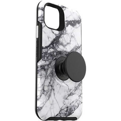 "Otterbox Otter + Pop Symmetry Case For iPhone 11 Pro Max (6.5"") - White Marble"