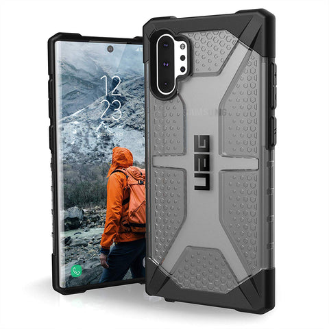 Shop UAG PLASMA ARMOR SHELL CASE FOR GALAXY NOTE 10 PLUS / NOTE 10 PLUS 5G (6.8-INCH) - ASH Cases & Covers from UAG