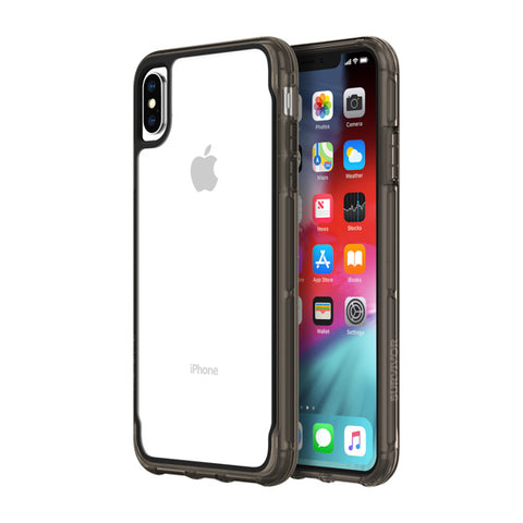 Shop GRIFFIN SURVIVOR CLEAR CASE FOR IPHONE XS MAX - CLEAR/BLACK Cases & Covers from Griffin