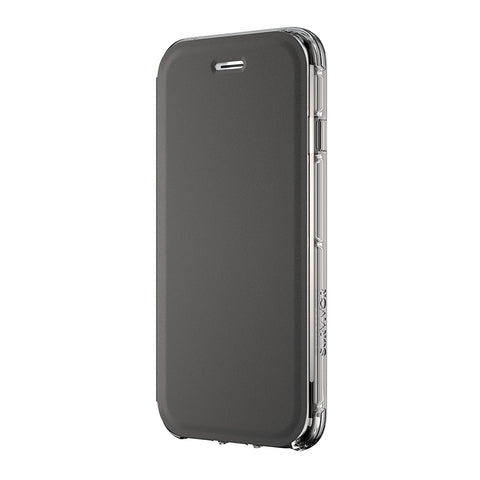 Shop GRIFFIN SURVIVOR CLEAR WALLET CASE FOR IPHONE 8/7/6S - BLACK/CLEAR Cases & Covers from Griffin
