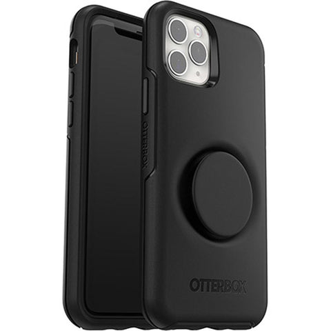 "Shop Otterbox Otter + Pop Symmetry Case For iPhone 11 Pro Max (6.5"") - Black Cases & Covers from Otterbox"