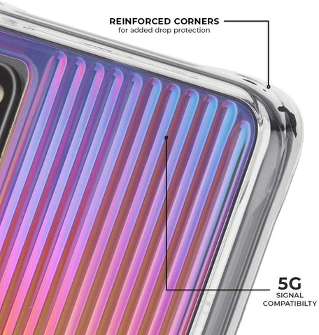 Shop Casemate Tough Groove Case For Galaxy S20 Plus (6.7-inch) - Iridescent Cases & Covers from Casemate