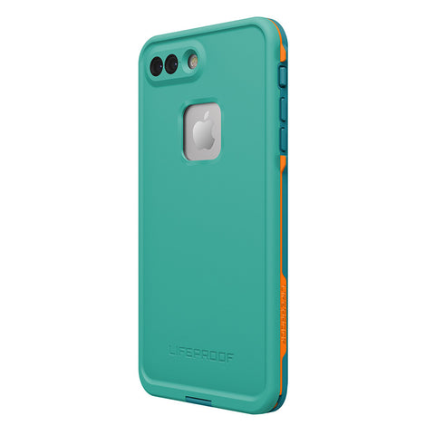 Shop Lifeproof Fre Built-in Scratch Protector Waterproof Case for iPhone 7 Plus- Teal Cases & Covers from Lifeproof
