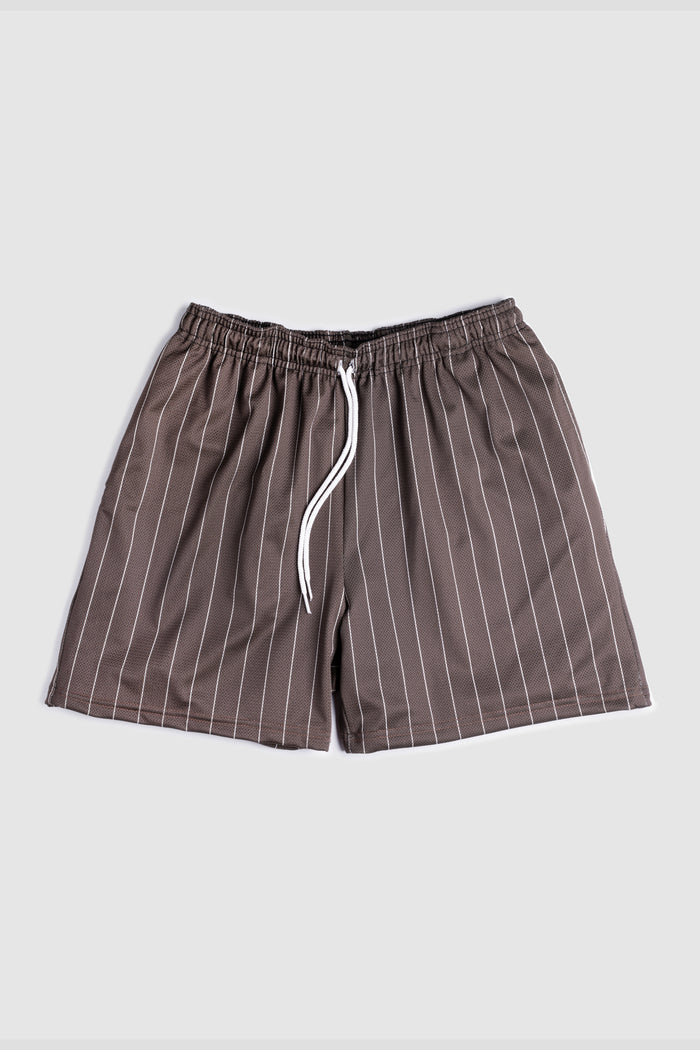 GFC - HEAVYWEIGHT PINSTRIPE SHORTS - ARMY GREEN