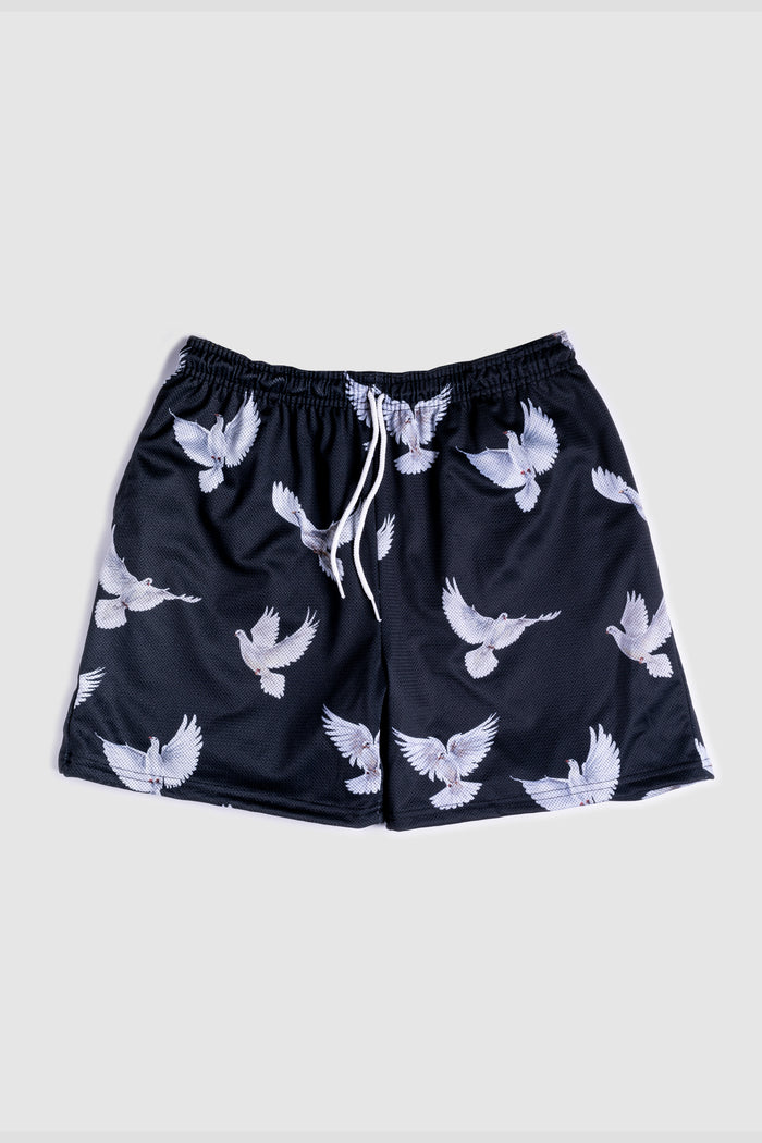 GFC - HEAVYWEIGHT LET THE BIRDS FLY SHORTS - BLACK