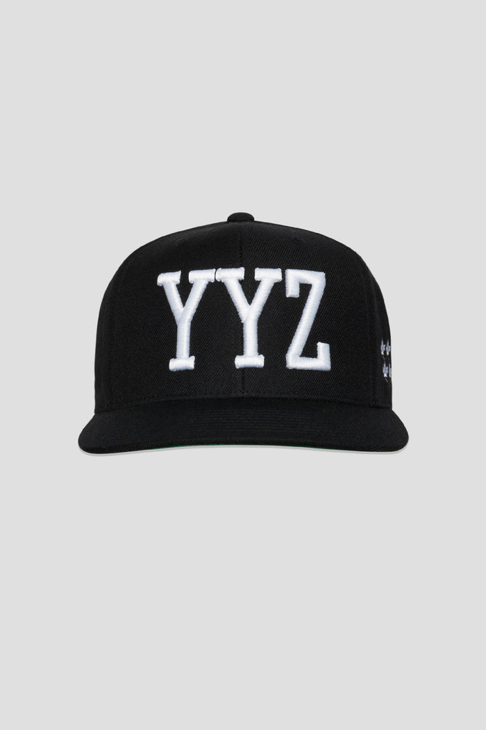 YYZ Hat (White/Black)