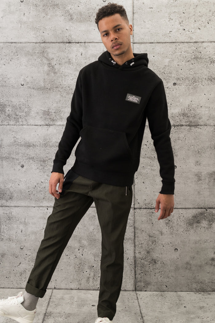 GFC - Patch Hoodie - Black