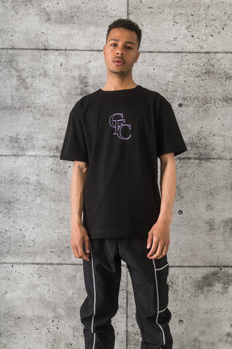 GFC - Monogram Tee - Purple/Black