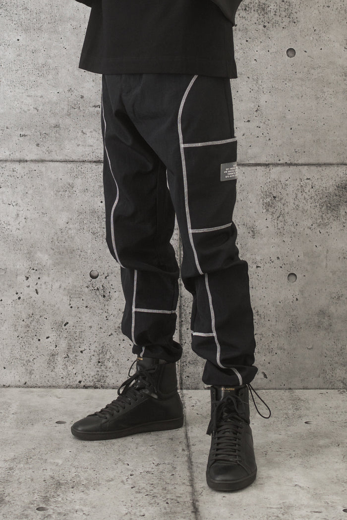 GFC - Pleater Pant - Black