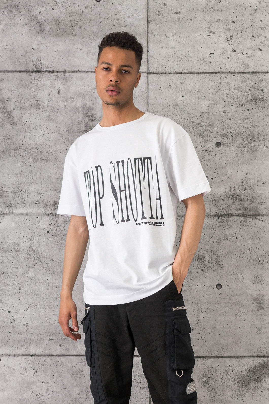 Top Shotta Tee - White