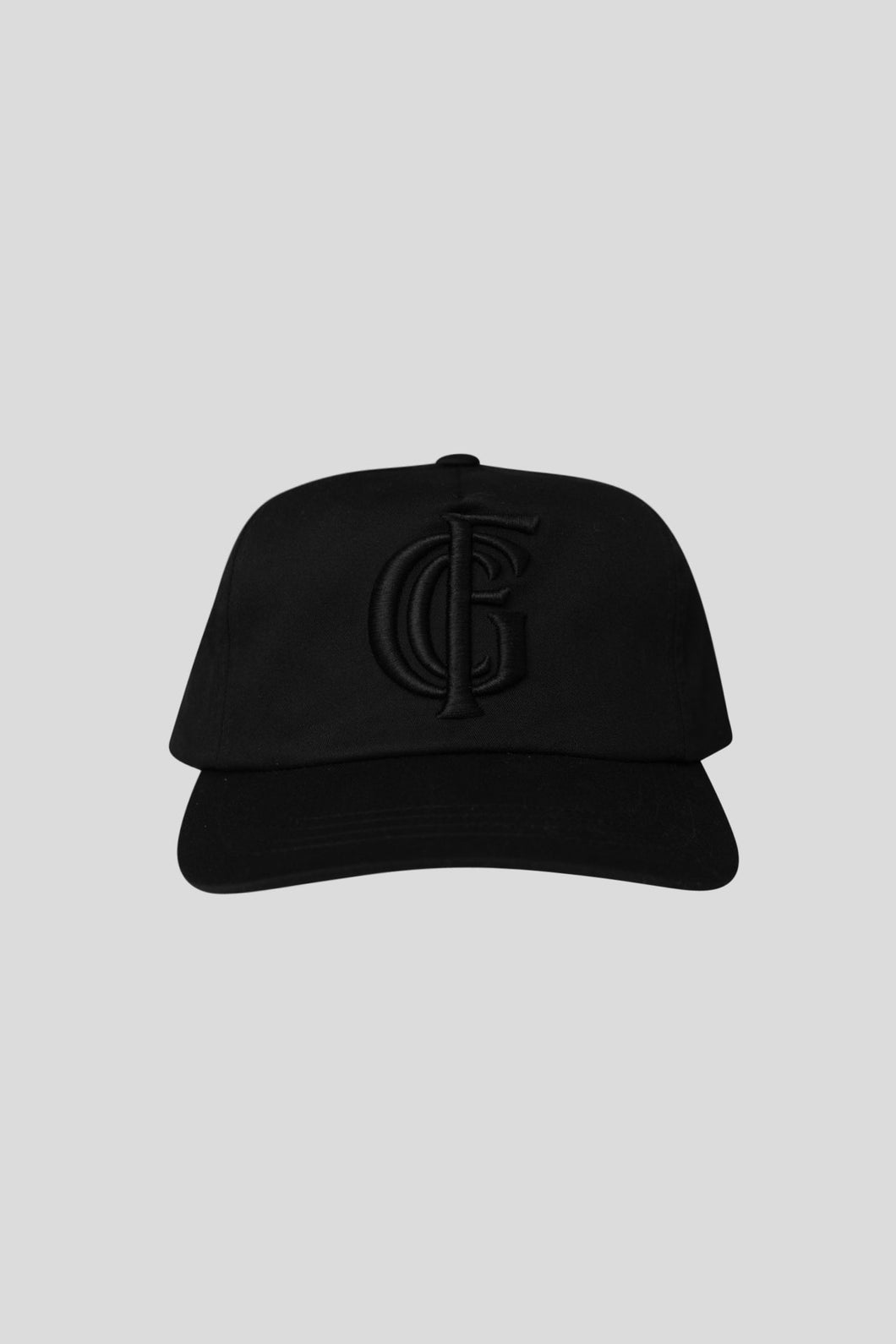 Monogram Hat - Black/Black