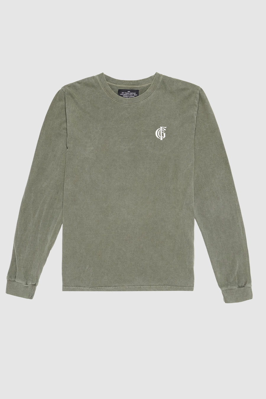 LEISURE MONOGRAM LONG SLEEVE