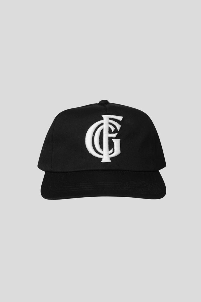 Monogram Hat - Black/White